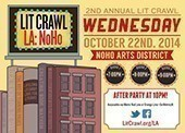 Poster for NoHo Literary Crawl